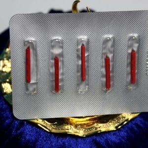 Microblading 7er Nadel / Blade 5 Stück Rot